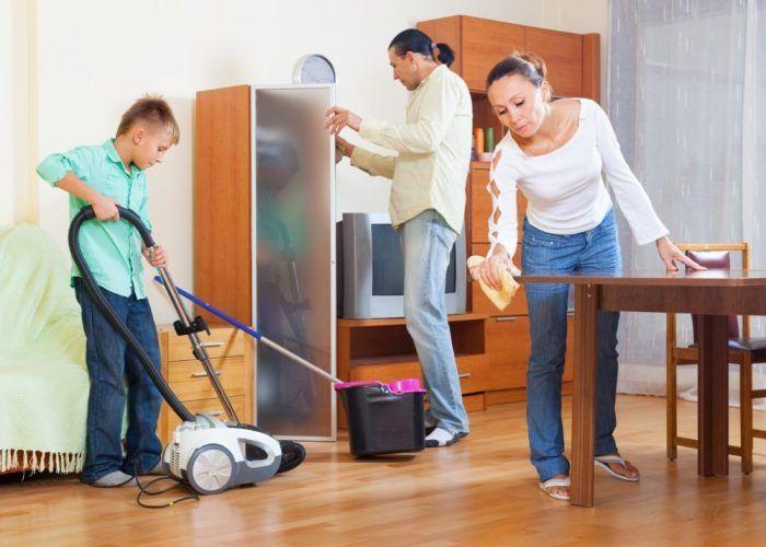 Las tareas que tus hijos pueden hacer según su edad