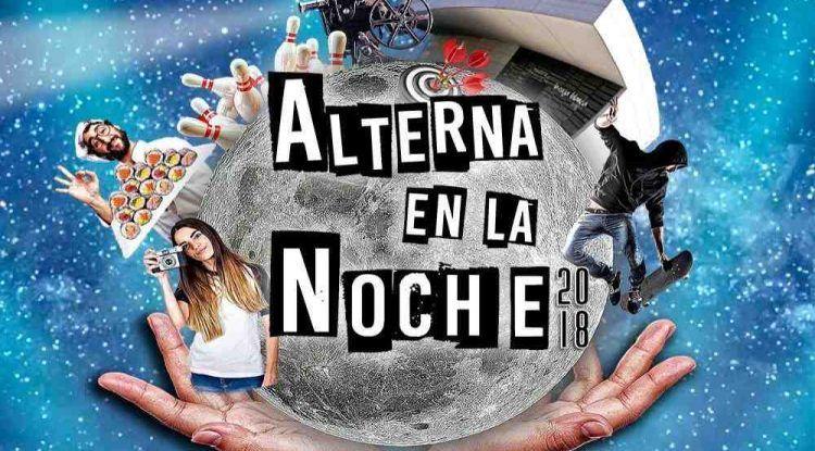 Variadas actividades gratis de fin de semana para jóvenes en abril con Alterna en la noche Málaga