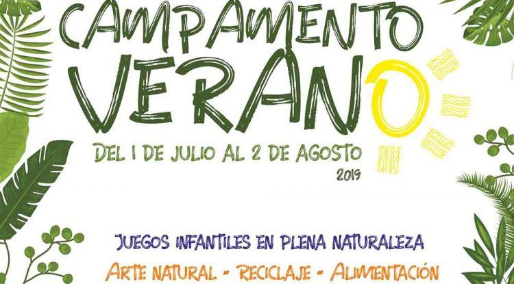 Campamento de verano infantil en el Jardín Botánico La Concepción de Málaga con multitud de actividades y juegos