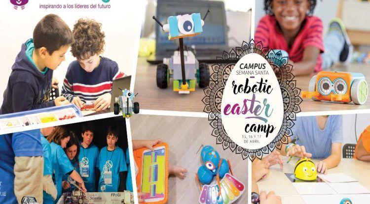 Campamento infantil en Semana Santa con Edukative