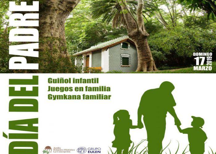 Actividades para toda la familia por el Día del Padre enel Jardín Botánico La Concepción de Málaga