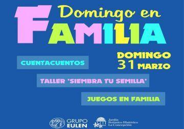 Domingo en el Jardín Botánico La Concepción de Málaga con actividades para toda la familia