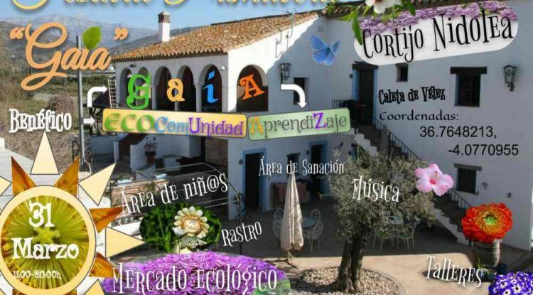 Festival ecológico con talleres gratis para toda la familia en el Cortijo Nidolea de Caleta de Vélez
