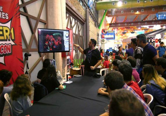 Videojuegos, series o anime para pequeños y mayores en la tercera edición de la Freakcon en Málaga