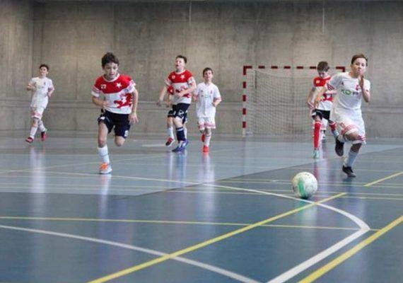 Fútbol sala para niños en Málaga