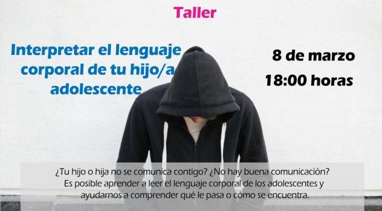 El lenguaje corporal, el futuro de tu hijo adolescente o las malas contestaciones serán los protagonistas de los talleres para madres y padres de marzo con Orientando en Positivo (Málaga)