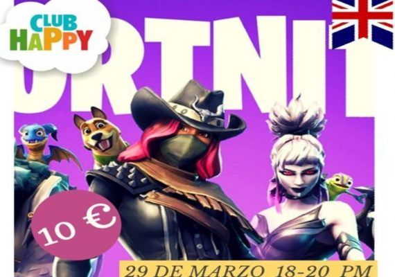 Taller de Fortnite Dance con Club Happy Málaga