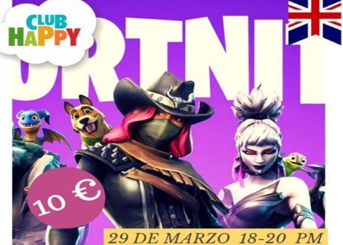 Taller de Fortnite Dance con Club Happy Málaga