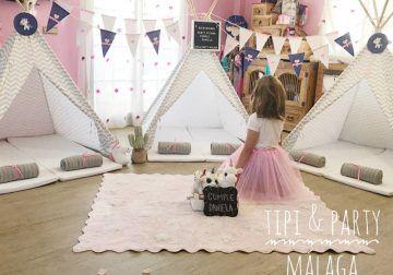Celebra eventos y cumpleaños inolvidables con tipis y picnic