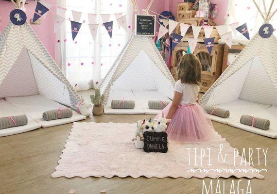 Celebra un cumpleaños infantil inolvidable con tipis y picnic en casa