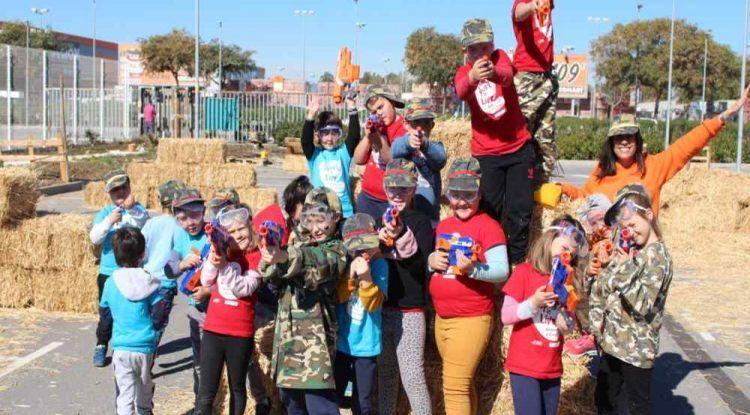 Batallas Nerf en tu cumpleaños infantil con Sportislive en Verdecora Málaga