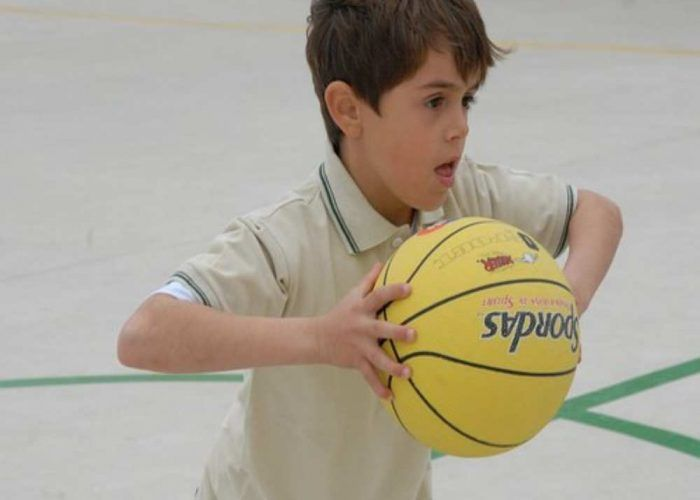 Baloncesto para niños en Málaga