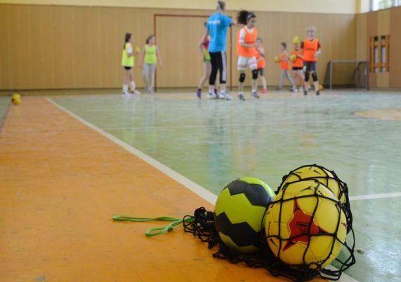 Balonmano para niños en Málaga