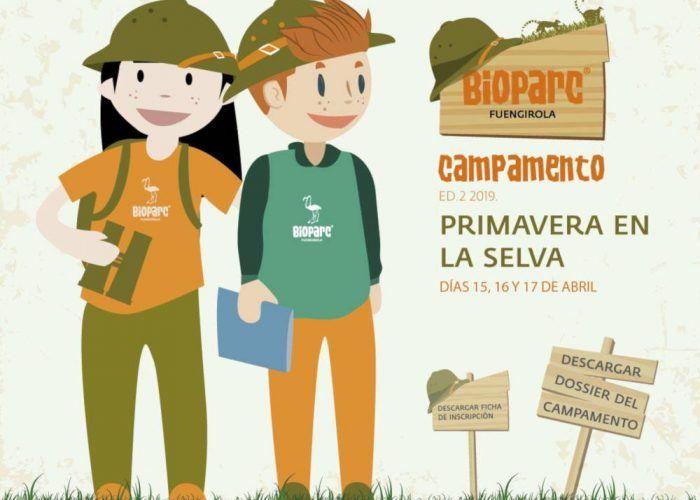 Campamento infantil de Semana Santa en Bioparc Fuengirola: primavera en la selva