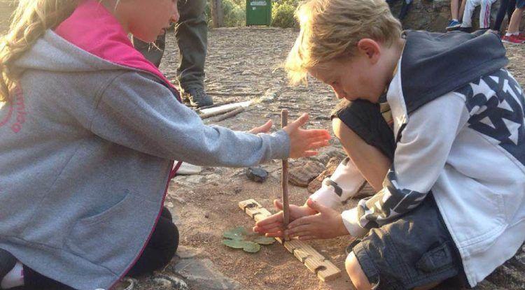 Campamento de verano para niños sobre prehistoria de la mano de Arqueoeduca en Málaga