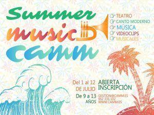 Campamento musical de verano de Camm Málaga