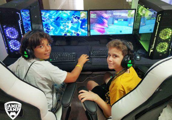 Gamer Camp 2019: campamento de verano sobre videojuegos para niños y jóvenes en Málaga