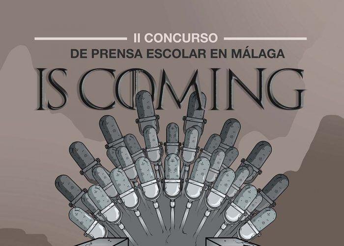 Abierto el plazo de inscripción en el II Concurso de Prensa Escolar en Málaga