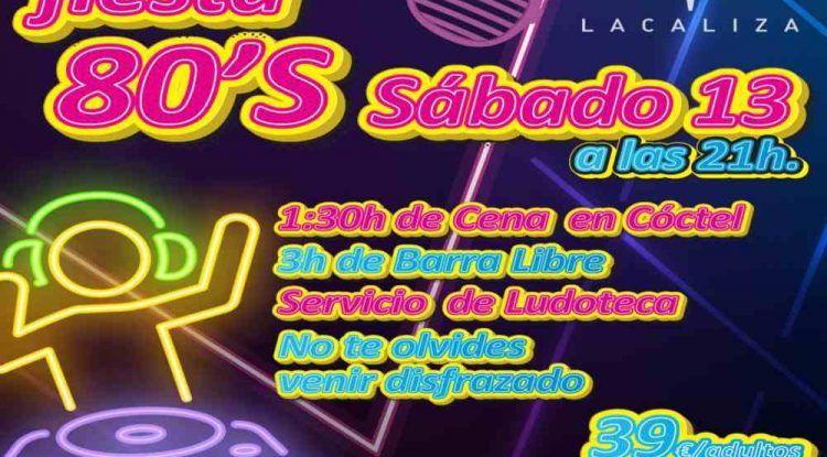 Fiesta nocturna con ludoteca en el Restaurante Lacaliza