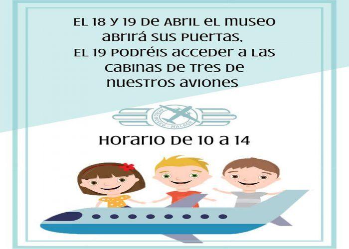 Entrada gratis a las cabinas de aviones del Museo Aeronáutico de Málaga