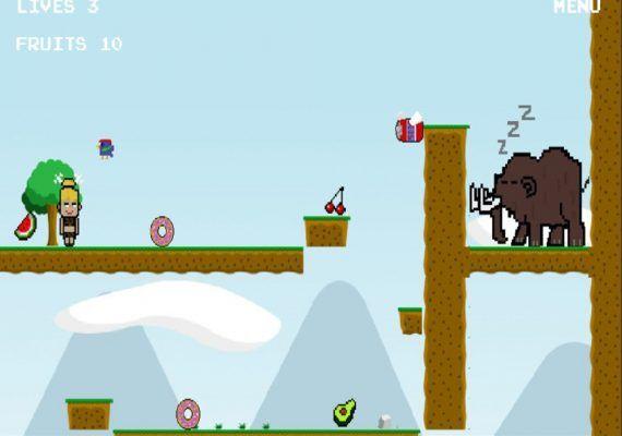 """""""Las Históricas Aventuras de Daniela"""" un videojuego de la Prehistoria creado por niños"""