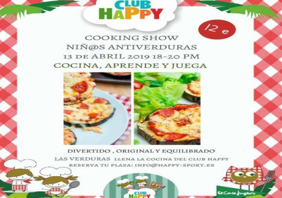 Taller de cocina para los peques de la casa con el Club Happy Málaga