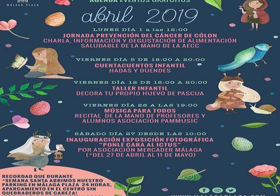 Música y manualidades para niños en el mes de abril dentro del Centro Comercial Málaga Plaza