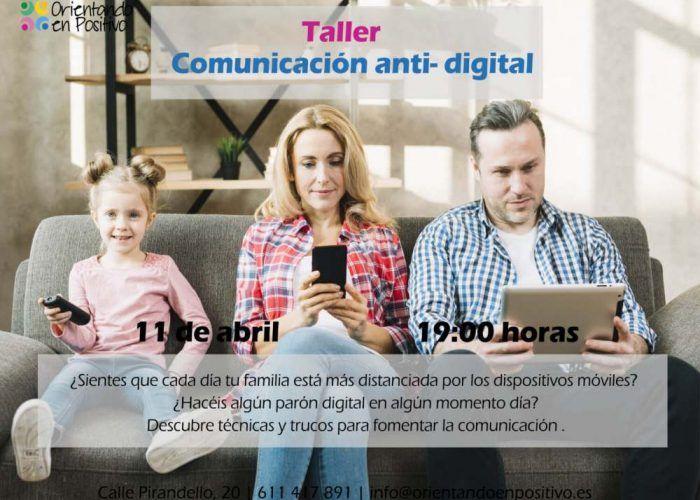 Talleres para madres y padres con Orientando en Positivo durante abril en Málaga