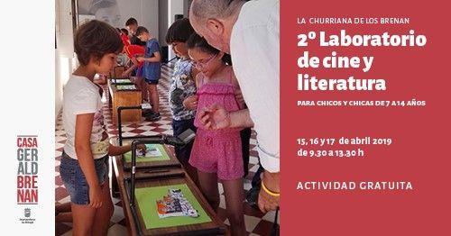 Campamento gratuito de Semana Santa sobre cine y literatura para niños y jóvenes en Churriana (Málaga)