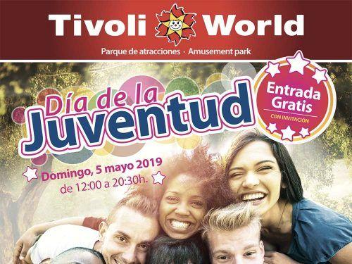 Visita gratis Tivoli Word por el Día de la Juventud