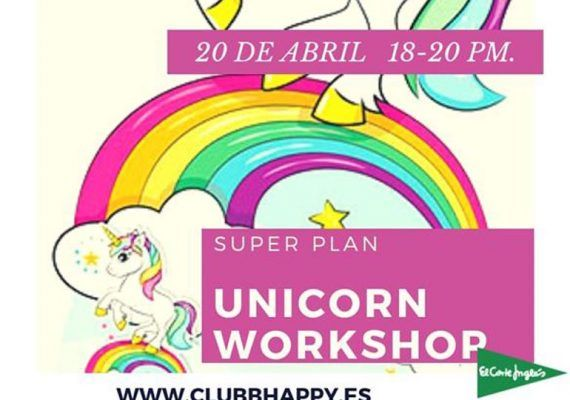Taller de unicornio en el Club Happy