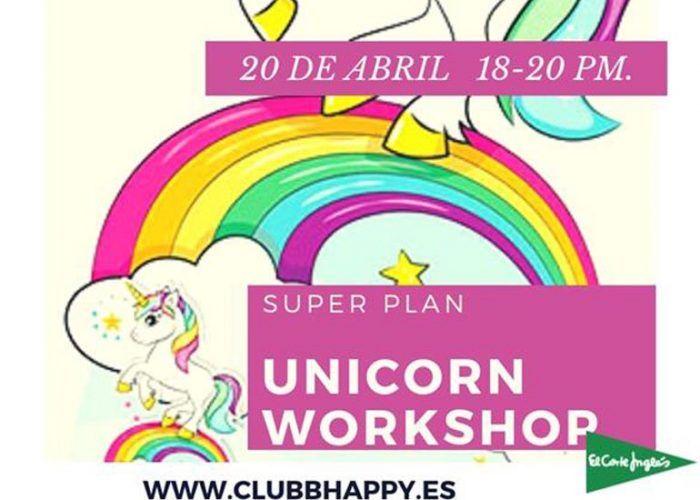 Taller de unicornio en el Club Happy