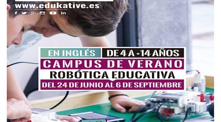 Campamento de verano tecnológico en inglés para los peques con Edukative-Málaga