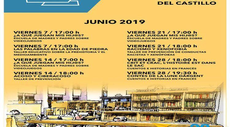 Talleres gratis para toda la familia en junio en la Biblioteca Cánovas del Castillo de Málaga