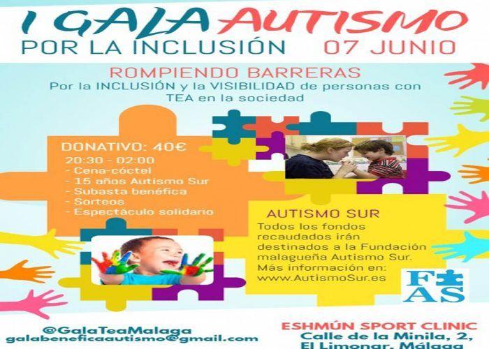 Gala benéfica en Málaga por la inclusión de personas con autismo