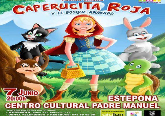 Musical de Caperucita Roja para toda la familia en Estepona