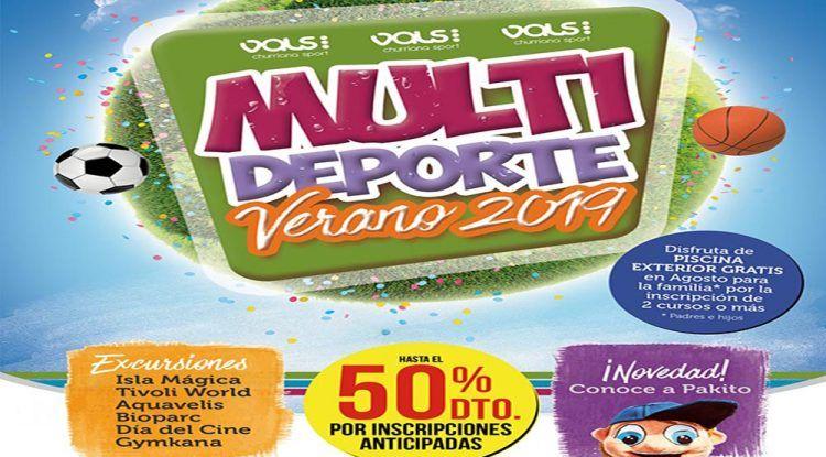 Campamento para niños y jóvenes en Vals Sport Churriana: 'Multi Deporte Verano 2019'