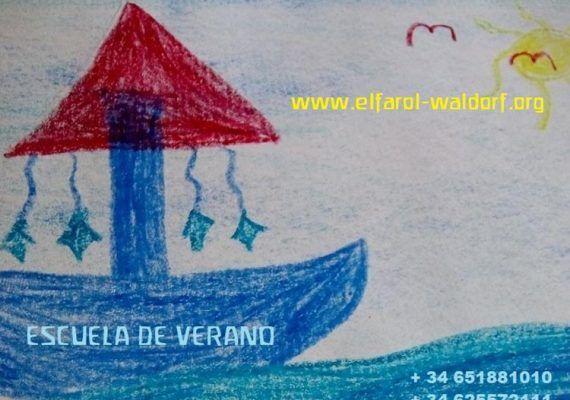 Escuela de verano El Farol Waldorf en Málaga