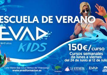 EVAD lanza su escuela de verano sobre videojuegos en Málaga