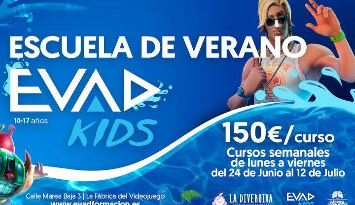 Escuela de verano para jóvenes sobre viodejuegos con EVAD Málaga