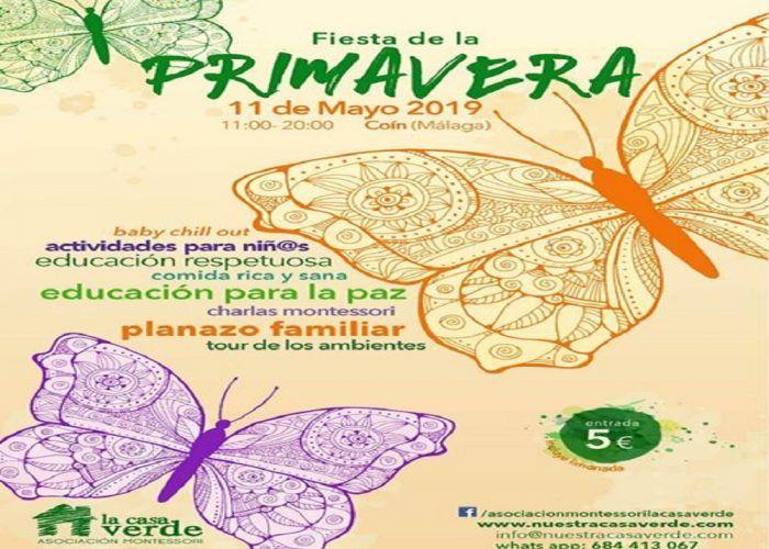 Fiesta de la Primavera con actividades para niños en Coín