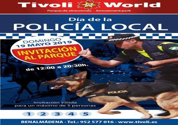 Entrada gratis a Tivoli este domingo por el Día de la Policía Local