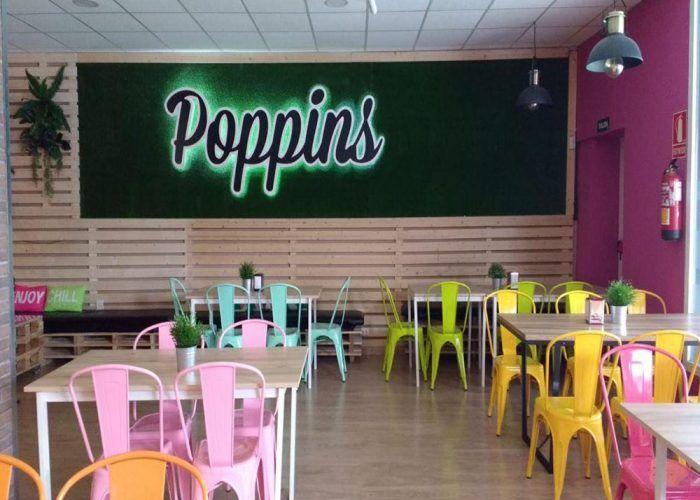 Almuerzos, meriendas y cenas con niños en Poppins de Alhaurín de la Torre