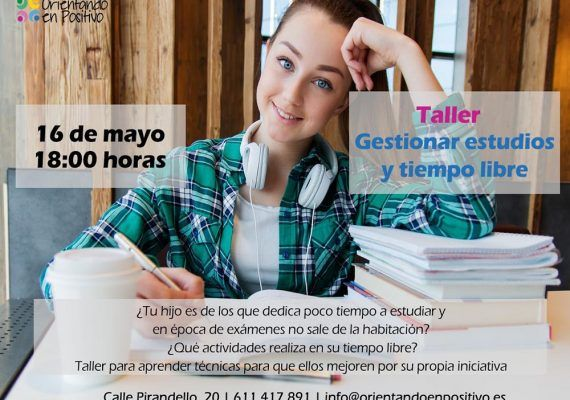 Talleres sobre cómo educar a hijos adolescentes en mayo con Orientando en Positivo (Málaga)