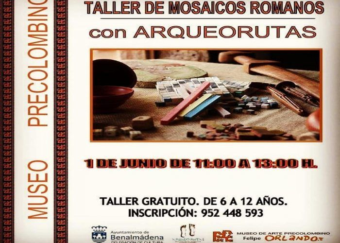 Taller gratis infantil con Arqueorutas en Benalmádena