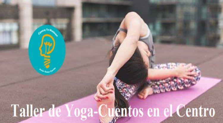 Taller de Yoga-Cuentos para niños y Taller de afrontamiento del Estrés en el Centro Te Motivan de Málaga en junio