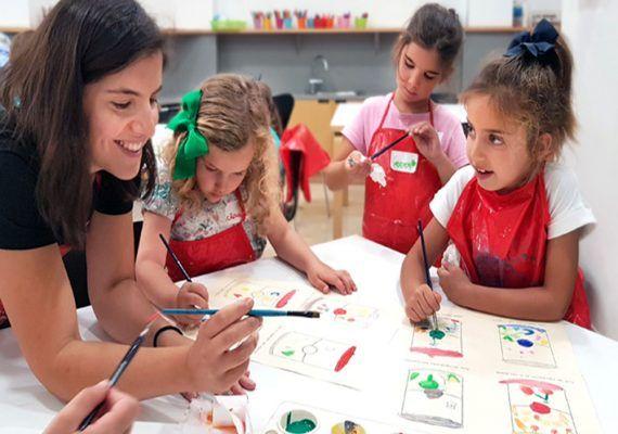 Talleres de verano para niños y jóvenes en el Museo Picasso de Málaga en julio