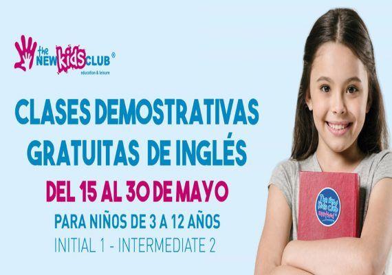 The New Kids Club Málaga organiza unas clases demostrativas gratuitas de inglés para los peques