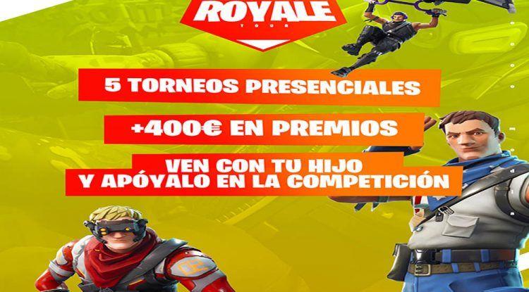 Torneos Fortnite para familias en el Polo Digital de Málaga