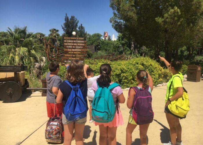 Verano para niños en Vals Sport Teatinos (Málaga) con su campamento de deportes